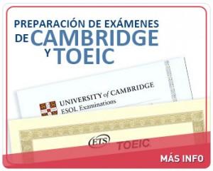Preparación de exámenes Cambridge