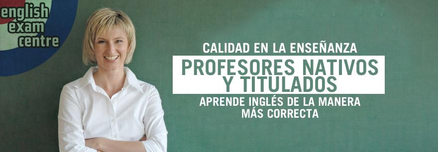 profesores de inglés en madrid