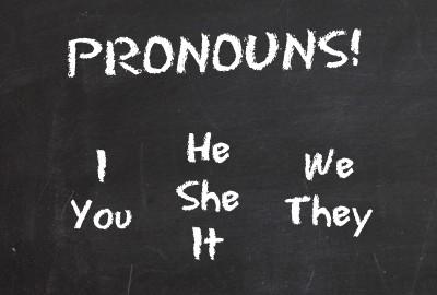 Pronombres personales en inglés