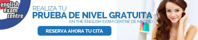 prueba de nivel de inglés gratuita