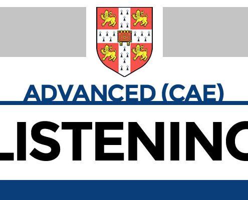 Advanced: la prueba del Listening