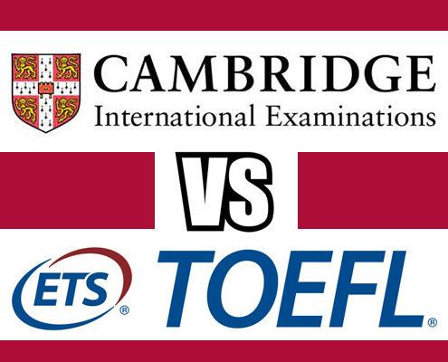 Diferencias entre los exámenes de Cambridge y el TOELF